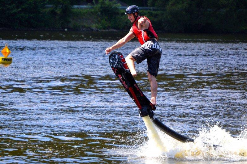Hoverboard u Prahy - 25 min