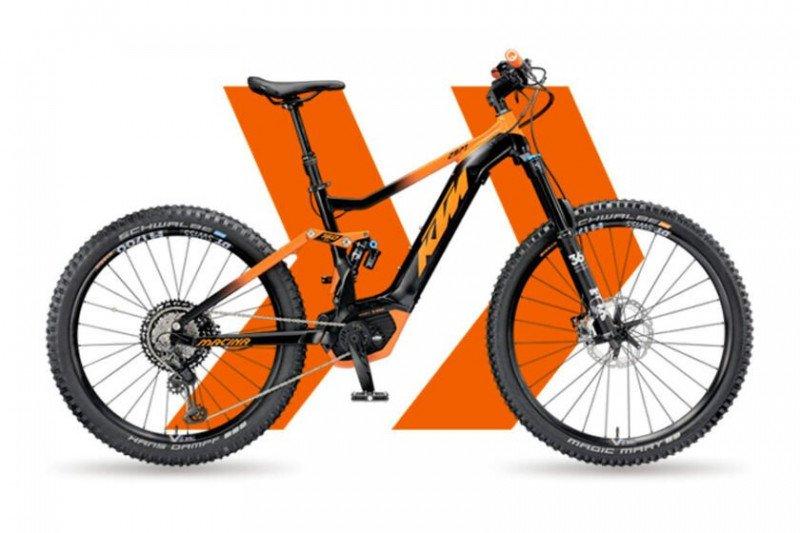 e-bike značky KTM