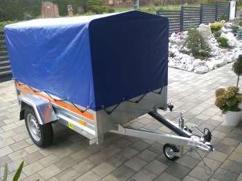 Pronájem vozíku 2050x1100 s plachtou